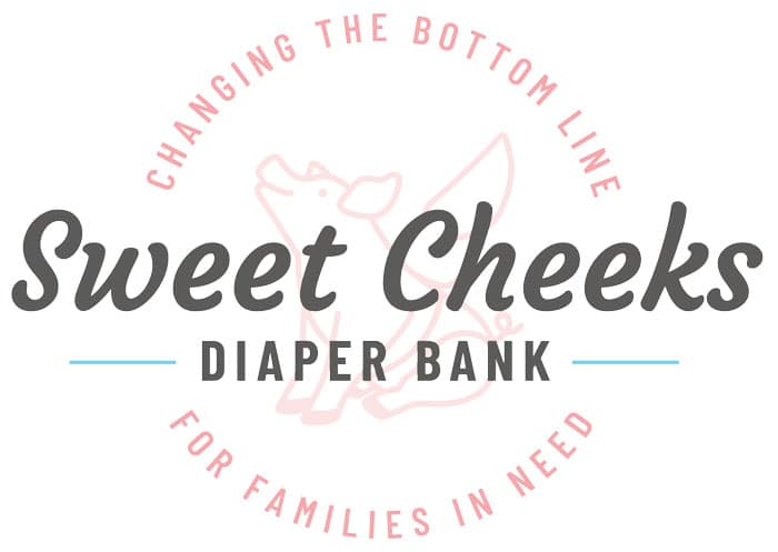 Donate diapers or cash to help end diaper need with Cincinanti's non-profit diaper bank, Sweet Cheeks Diaper Bank!