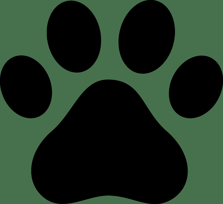 dog paw prints in - photo #1