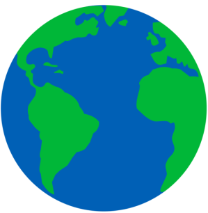 earth planet clip simple sweetclipart