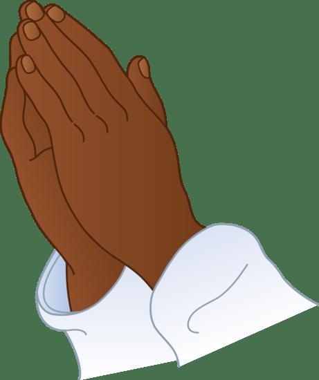 praying hands 2 - free clip art