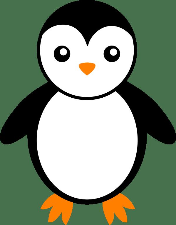 black and white penguin - free