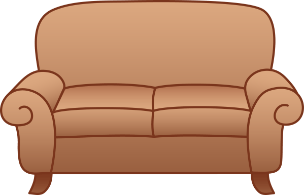 Transparent Clip Art Sofa Couch