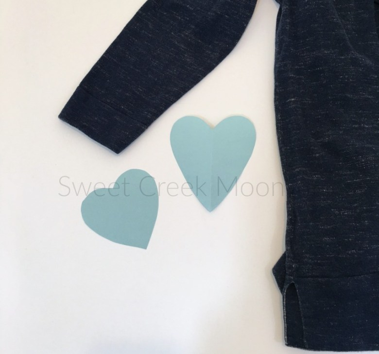 heart elbow patches choosing heart pattern