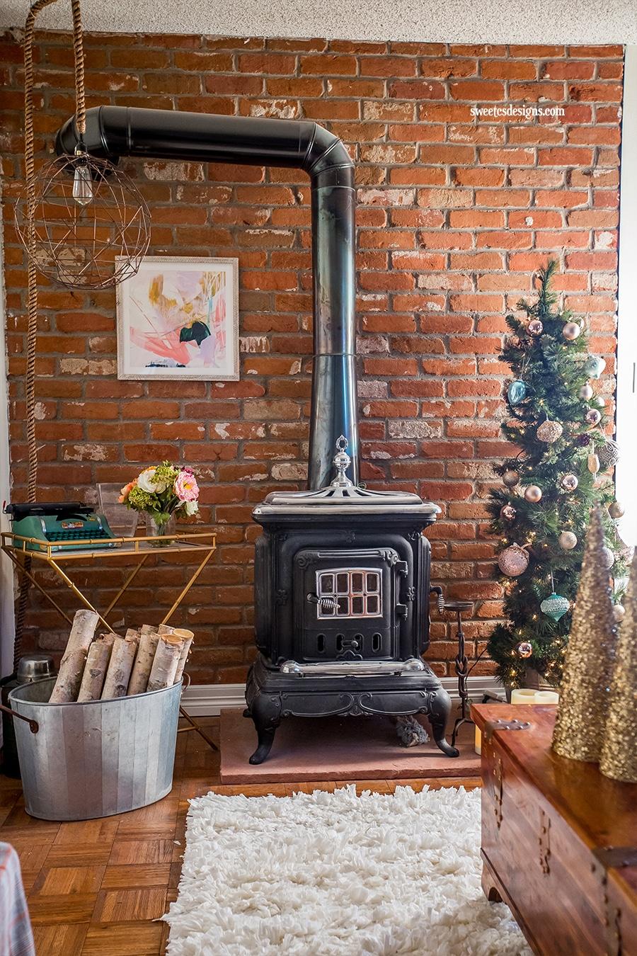 Rustic Glam Christmas Office Decor Sweet Cs Designs
