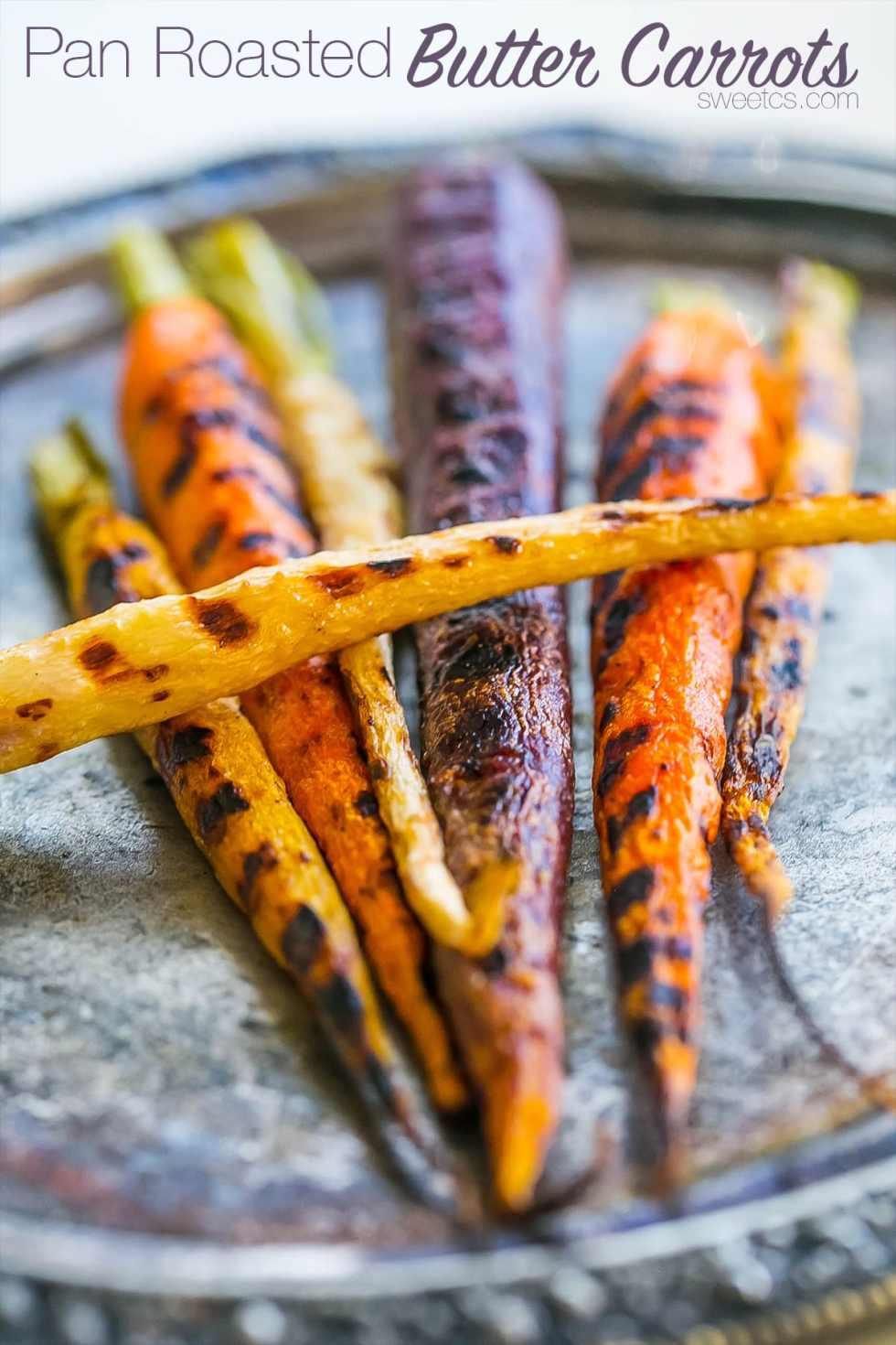Butter Carrots {Sweet C's}