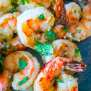 Garlic Parmesan Air Fried Shrimp Recipe Sweet Cs Designs