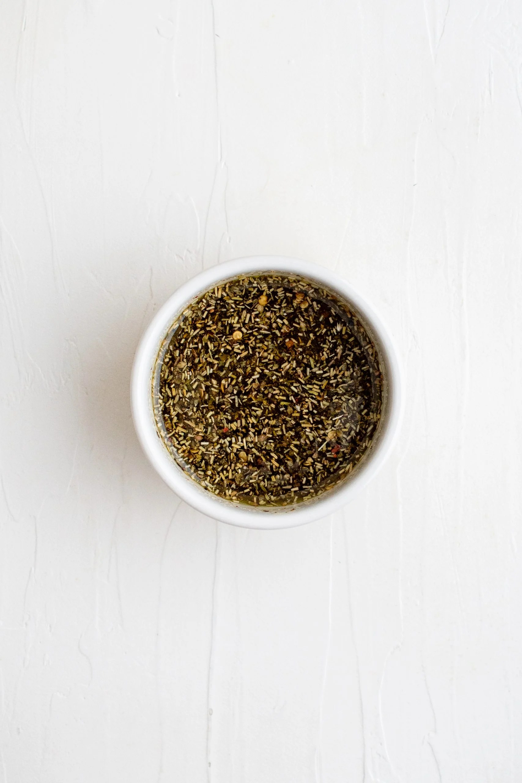 picture of herbs mixed in a bowl