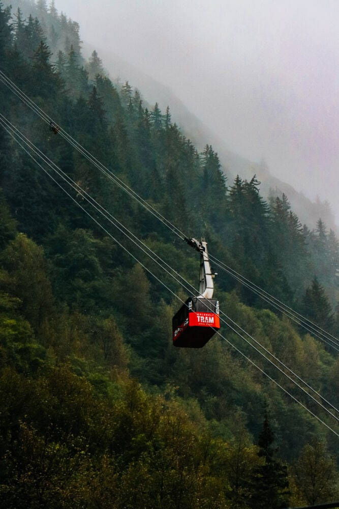 picture of the Juneau tram