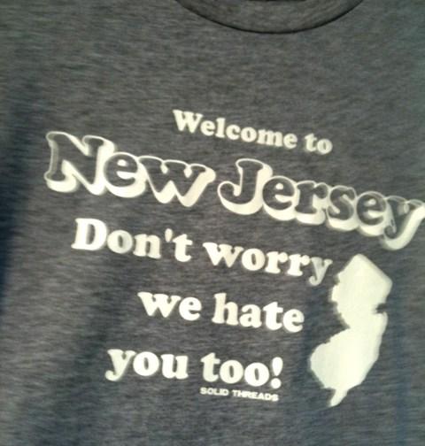 NJ Tee Shirt