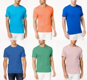 SALE! AS LOW AS $3.86 (Reg $19.50) Men's Crew Neck T-Shirt