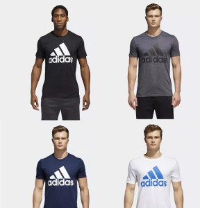 SALE ! AS LOW AS $10.20 (Reg 25.00) Adidas Men's Big and Tall Classic Tee