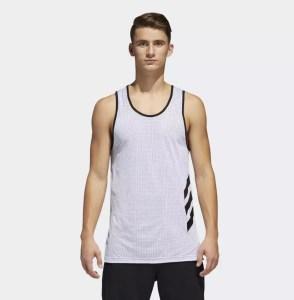 SALE ! AS LOW AS $12.75 (Reg 30.00) Adidas Mens' Basketball Tank Top