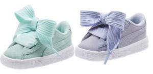 SALE! $19.99 (Reg $50.00) Puma Suede Heart Kids' Sneakers