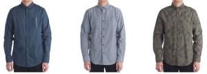 CLEARANCE! Walmart: $4.00 (Reg $18.94) Men's Printed Long Sleeve Button Front Shirt