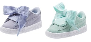 SALE! $10.99 (Reg $50.00) Puma Suede Heart Kids' Sneakers