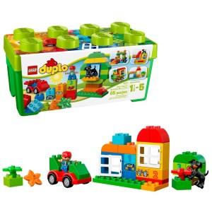 SALE! $17.99 (Reg $29.99) LEGO DUPLO All-in-One-Box-of-Fun Brick Box 10572 (65 Pieces)