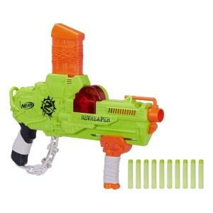 SALE! $12.99 (Reg $24.88) Nerf Zombie Strike RevReaper Blaster with 10 Zombie Strike Darts