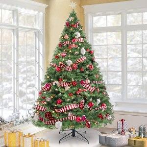 $60.19 ( REG $85.99) KingSo 7.5ft Christmas Tree