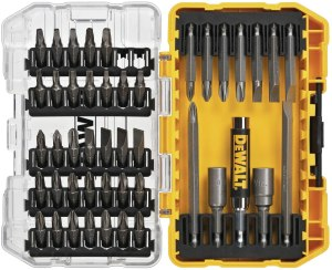 $14.99 DEWALT Screwdriver Bit Set with Tough Case, 45-Piece