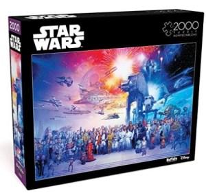 PRICE DROP! $13.97 (Reg $19.99) Star Wars – You were The Chosen One – 2000 Piece Jigsaw Puzzle