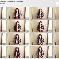 [DL] 160504 Jessica Greeting @ Fanmeeting in Taiwan