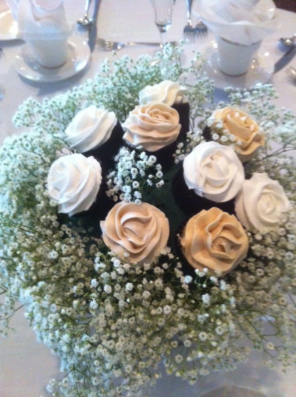 Unique Wedding Cupcake Bouquet  Sweet Discoveries