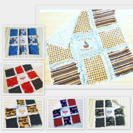 Mini Rag Quilts