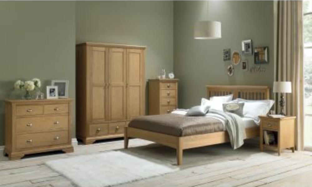 bentley designs hampstead oak bedroom range