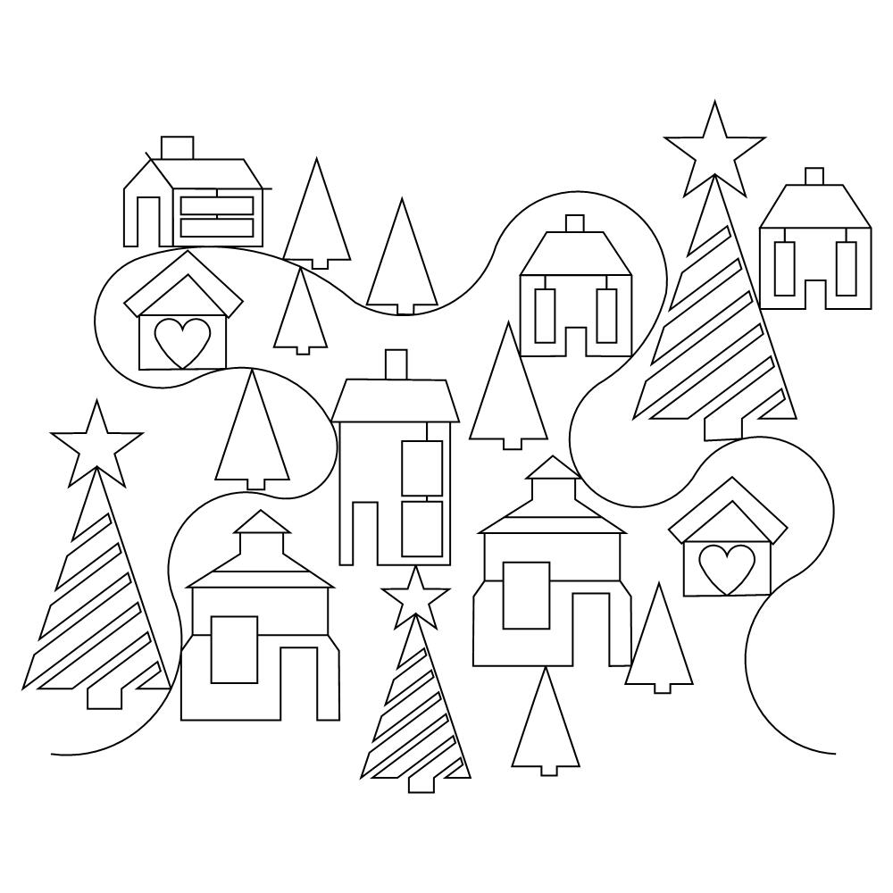 christmas town pano 001