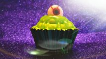 Chocolate Alien Cupcakes