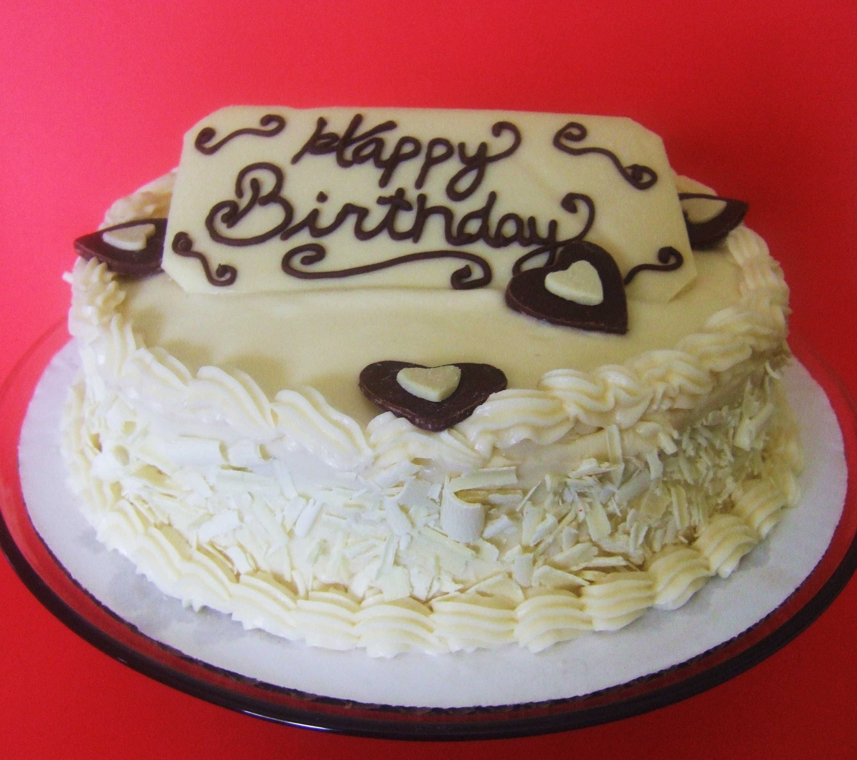White Chocolate Cakes