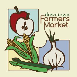 Walla Walla downtown Farmers Market poster, from their Facebook page.