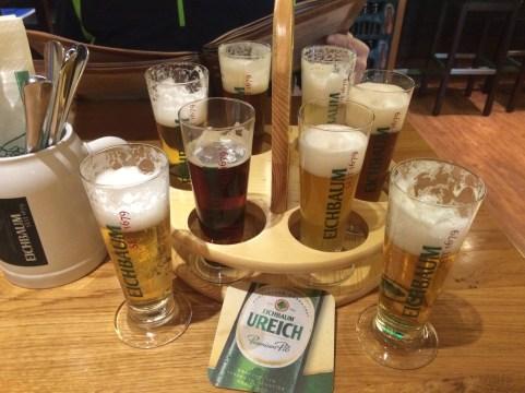 Eichbaum Brauerei flight in Mannheim, Germany.