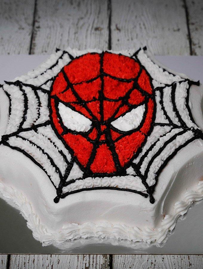 Make A Spider Man Birthday Cake In Easy Way Sweetentheworld