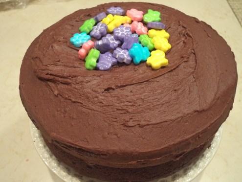 Double-Chocolate Espresso Cake