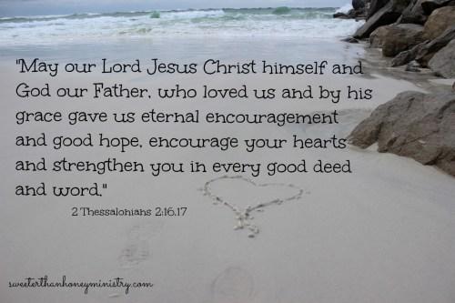 heart 2 thessalonians 2-16,17