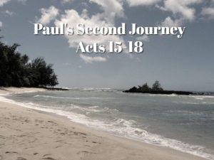 Paul's Second Journey