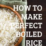 Vegan Essential Recipes - No.1 Perfect Boiled Rice