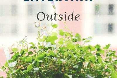 6 Ways to Entertain Outside