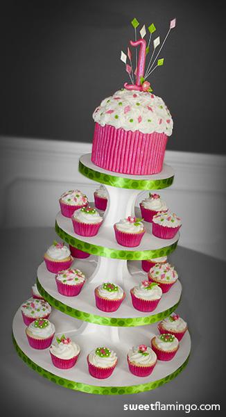 1st Cupcake Birthday! Sweet Flamingo Cake Co