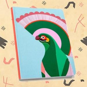 Carnet imprimé oiseau modèle GILI.