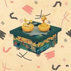 Boite à musique Girafes magnétiques par Trousselier.
