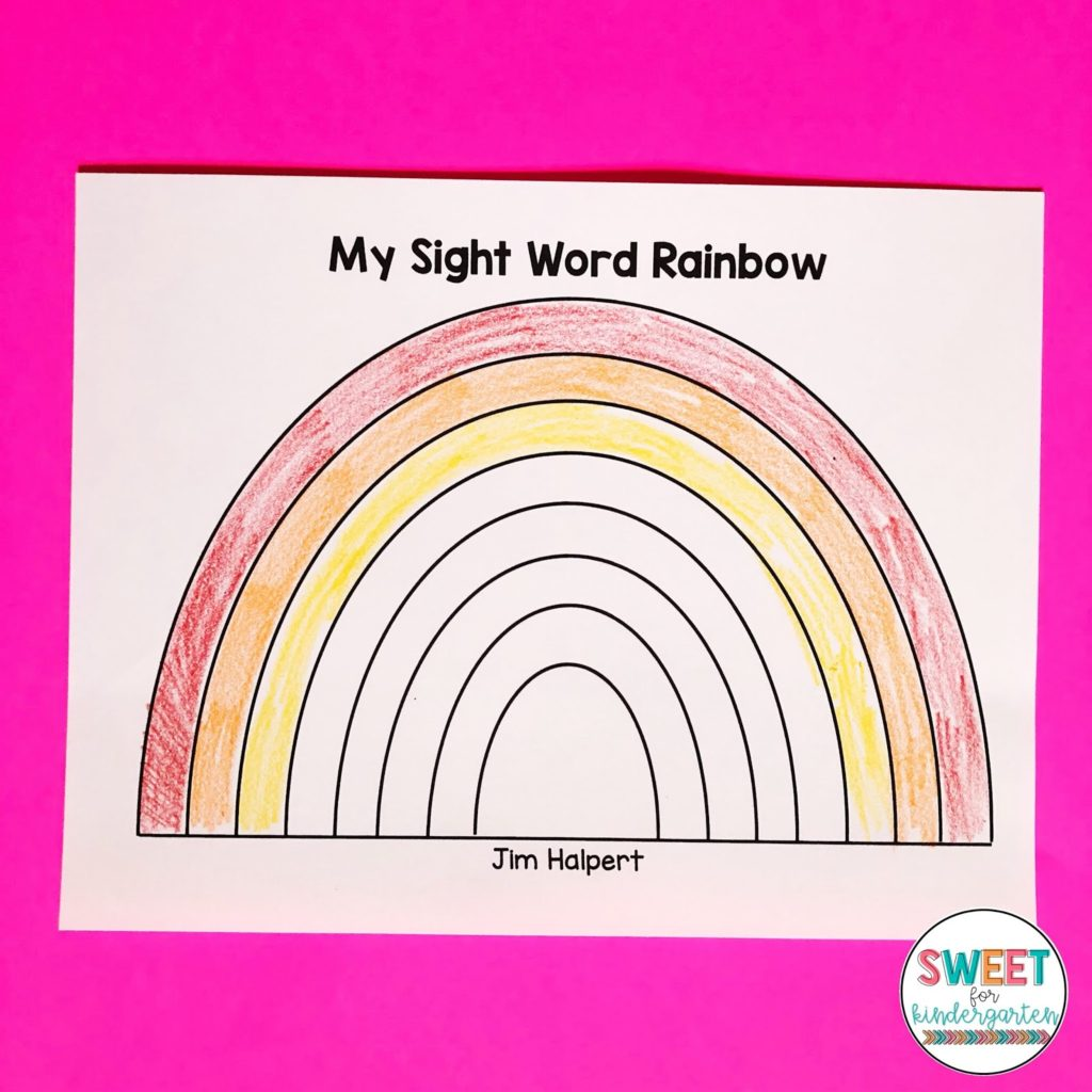 Your Kindergarteners Can Learn 100 Sight Words