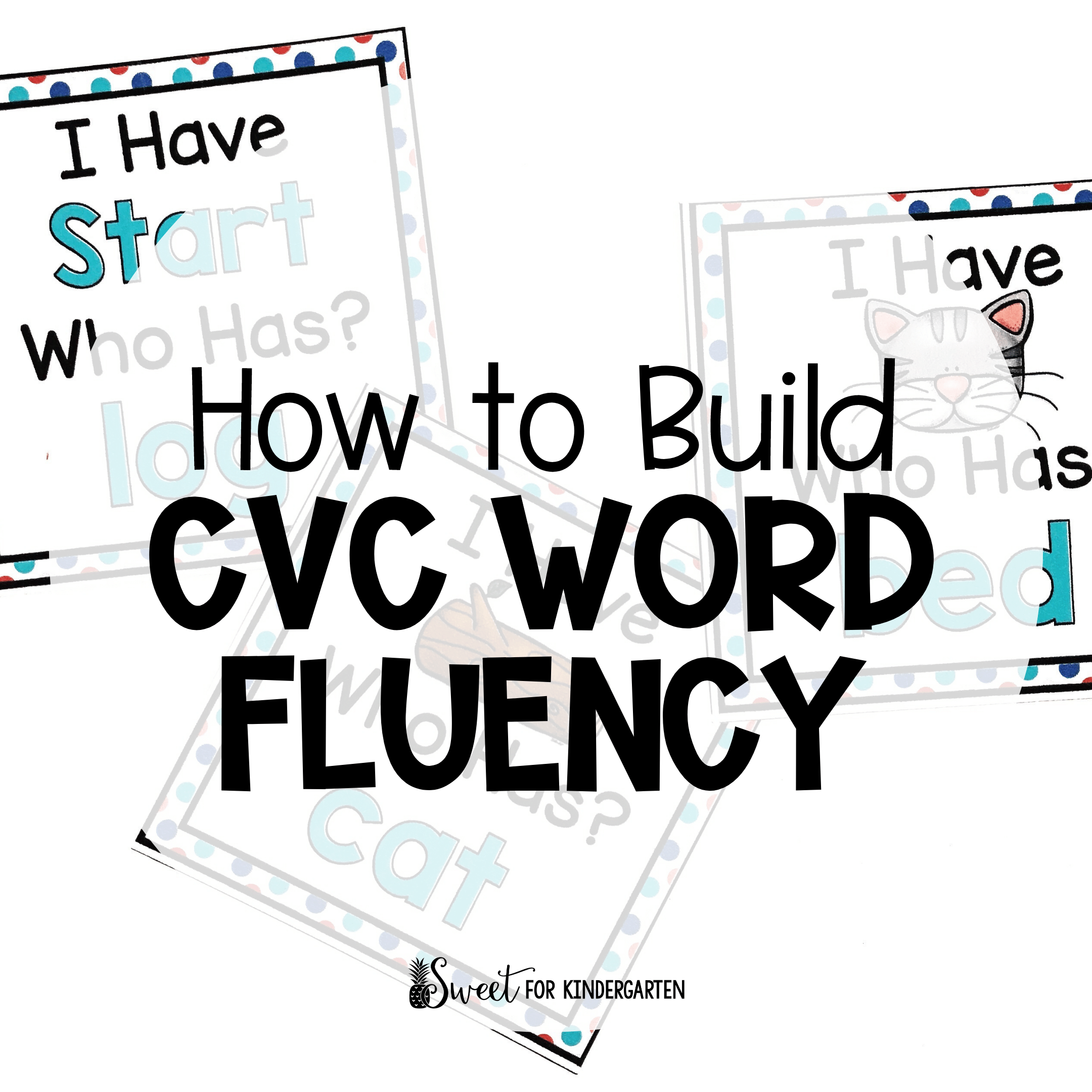 small resolution of Four Activities to Practice Building CVC Fluency   Sweet for Kindergarten