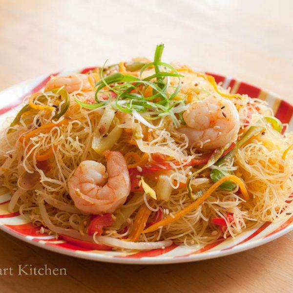 星洲炒米 Fried Rice Vermicelli In Singapore Style食譜 : 甜琛廚房