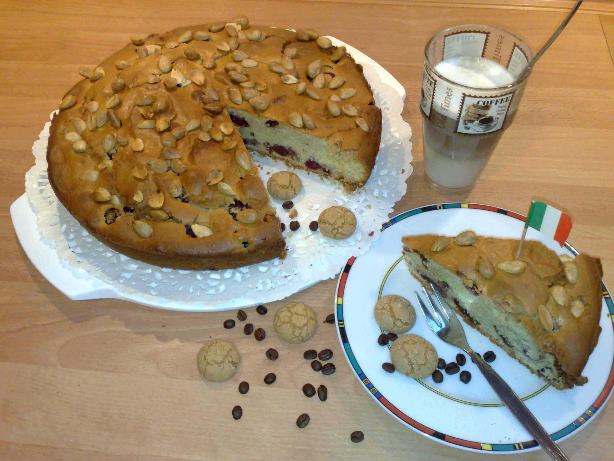 Amarettini Kuchen Mein Beitrag Zu Pamk Und Ein Leckeres Last