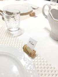 How to Upcycle Wine Corks into Place Card Holders
