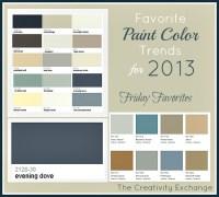2013 Top Paint Colours Ideas