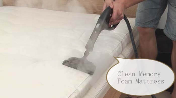 Clean Memory Foam Mattress