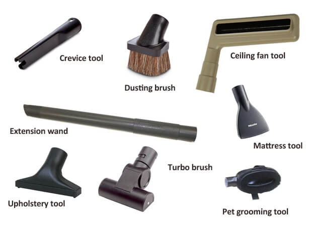 parts of vacuum cleaner